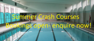 Summer crash course advert